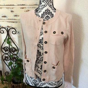 Cabi cashmere blend button down cardigan